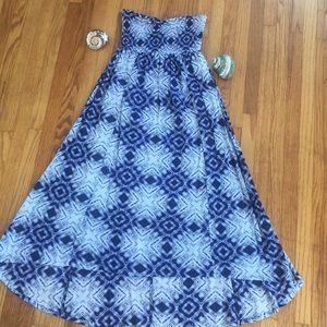 Billabong tie dye bohemian beach dress